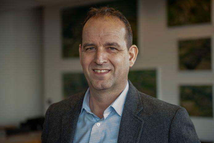Angelo de Mul, oprichter en directeur-eigenaar van PureBlue Water, nu nog gevestigd in Kapellebrug.