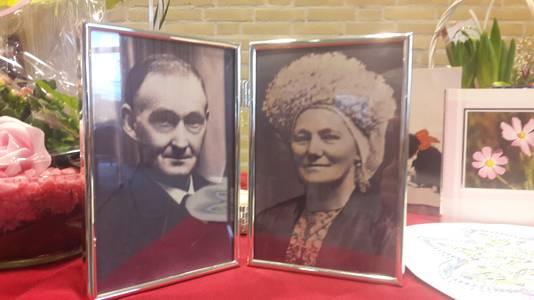 De ouders van zuster Vitalis.