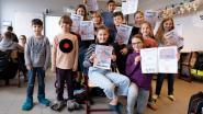Te jong om te betogen? Leerlingen 't Hinkelpad houden eigen klimaatmars