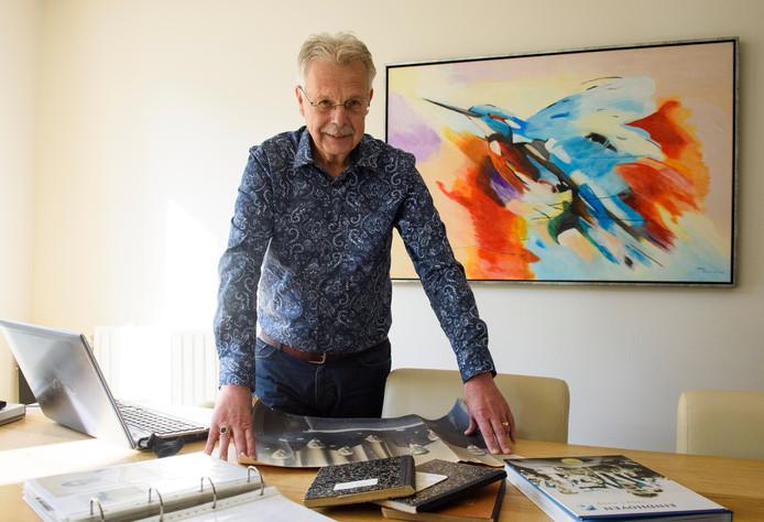 Hans Verhoeven, archivaris van FC Eindhoven