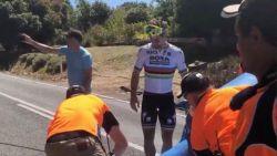 """Sagan won opnieuw rit én werd leider 'Down Under', maar pas na koers moest hij """"eindelijk echt werken"""""""