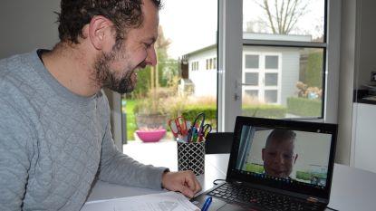 Liefst 70 leerkrachten van 't Saam Cardijn verspreiden positieve boodschap naar leerlingen net voor het paasverlof