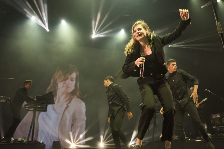 Christine & The Queens op Rock Werchter.