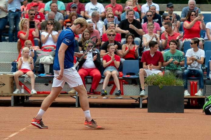 Doorwerth, 16 juni 2018.Tennis: Play-offs om de landstitel bij DUNO. Botic van de Zandschulp . 191068 . dgfoto . Foto: Gerard Burgers