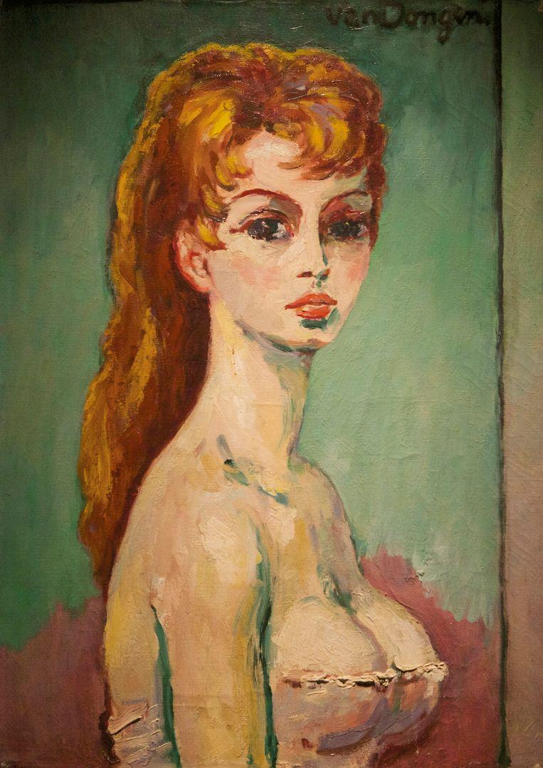 'Portret van Brigitte Bardot' in het Singer in Laren.  Jan Rudolph de Lorm, directeur van Singer Laren: