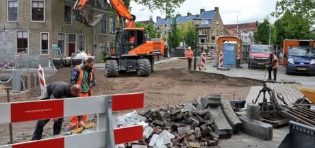 Maartensgat en Lange Geldersekade tóch weer even opengebroken voor werkzaamheden