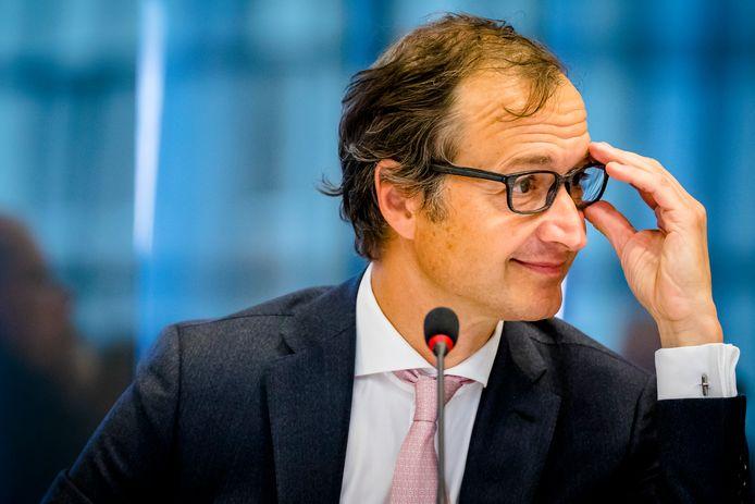 Staatssecretaris Eric Wiebes