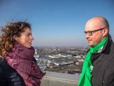 GroenLinks vs D66: 'Jij komt met een soort verbod op vliegverkeer'