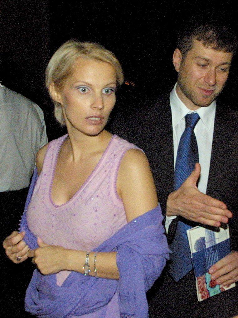 Abramovich met zijn tweede vrouw Irina, waarmee hij vijf kinderen heeft.