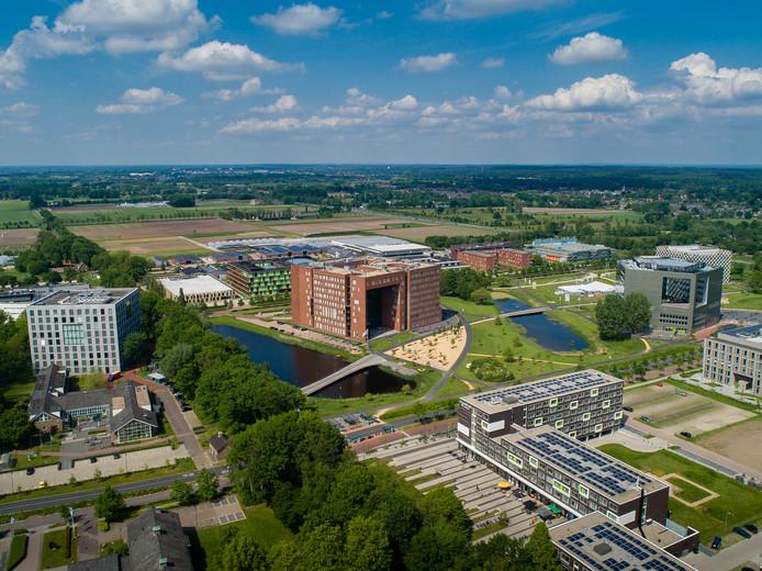 Een deel van de Wageningen Campus