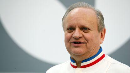 Franse sterrenchef Joël Robuchon (73) overleden
