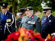 Einde Nederlandsch-Indisch Leger herdacht bij Bronbeek in Arnhem