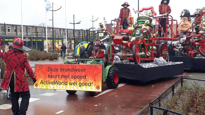 Deze groep doelt op het afgelaste carnavalsfeest aan de Klepperheide.