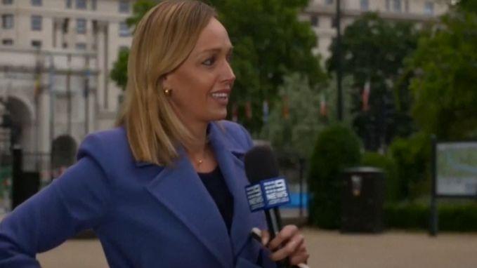 Australische  journaliste wordt aangevallen live op televisie