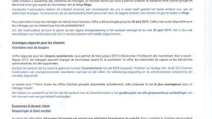 Commotie rond tweetalige brief van Waals bedrijf over groepsaankopen