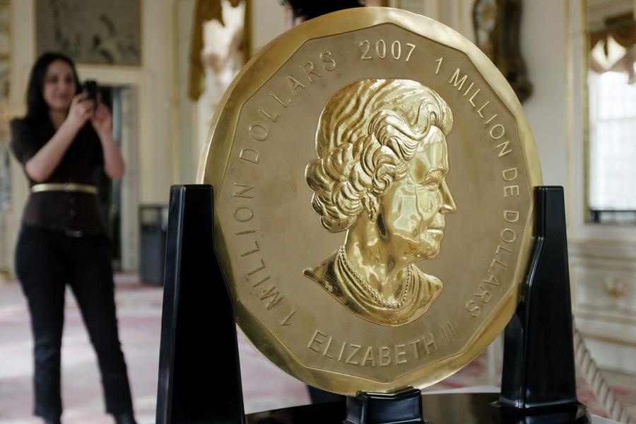 самая большая монета в мире картинки если среди