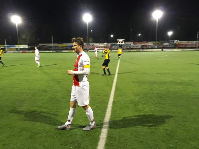 Aran Nijboer, aanvoerder van Flevo Boys, ziet in plaats van Purmersteijn graag een ploeg uit Noord in de hoofdklasse B komen.