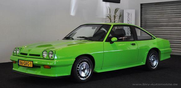 De Opel Manta zoals die door de New Kids uit het Nederlandse Maaskantje (Noord-Brabant) werd gereden.
