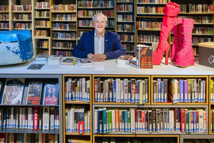 Theo Peeters neemt dit jaar afscheid van bibliotheek Theek 5.