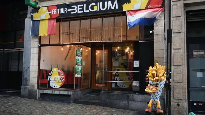RESTORECENSIE Frituur Belgium ***:  Een kleine tien minuten frietplezier