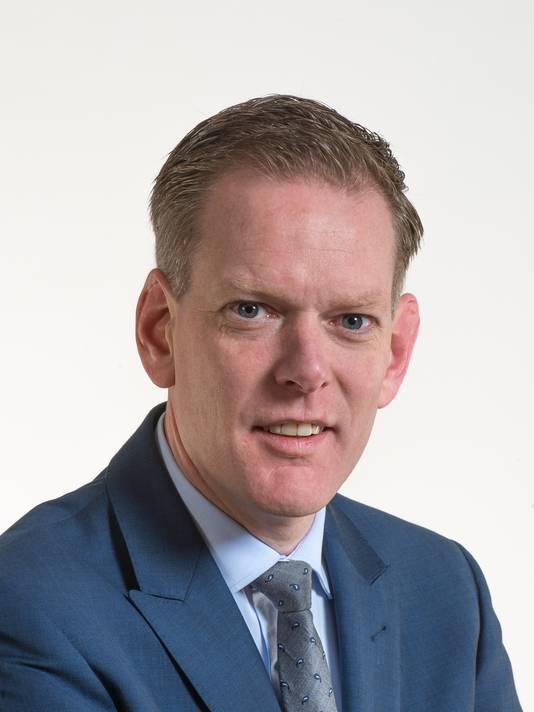 Martijn van Esch, fractievoorzitter DMP Heusden.