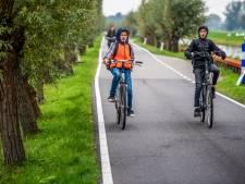 Mogelijk vrijliggend fietspad naast polderweg tussen Zwammerdam en Nieuwkoop
