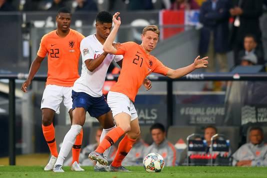 Zijn De Jong en Rashford volgend seizoen teamgenoten?