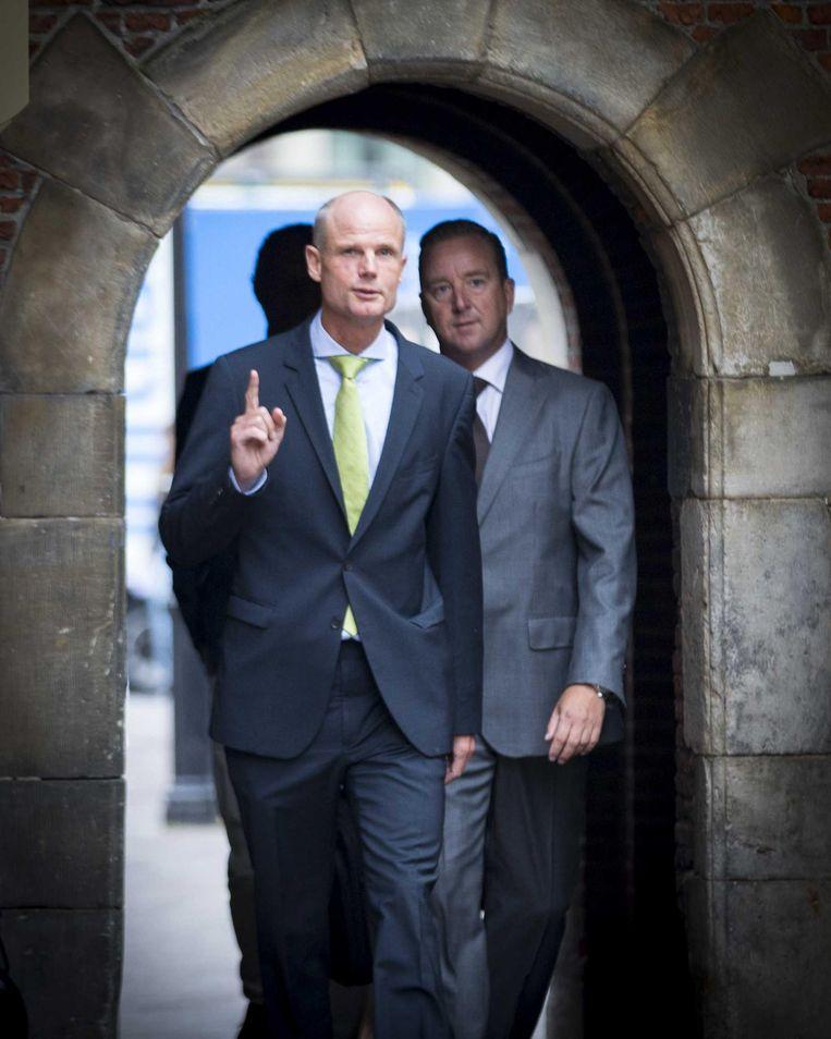 Minister Blok Beeld anp