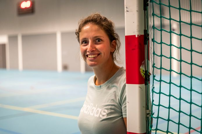 Melissa Grunewald, coach van ESZVV Totelos.