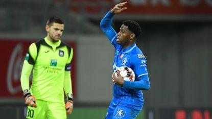 """Jonathan David (AA Gent) zag ook dat Anderlecht Fort Ghelamco had kunnen slopen: """"Had erger kunnen zijn"""""""