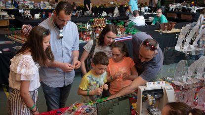 Jong en oud in de ban van Lego