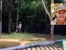 2,5 meter lange krokodil takelt opzichtster toe in park