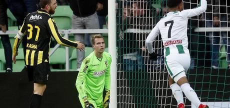 Jeroen Houwen in vorm; Jong Vitesse profiteert van uitglijder koploper UNA