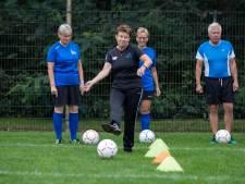 Alleen mogen wandelen druist in tegen gevoel bij Walking Football Steenwijk