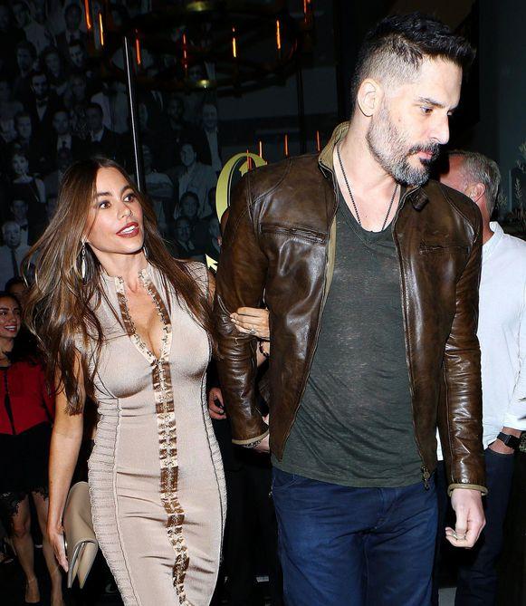 Sofía met haar huidige echtgenoot Joe Manganiello.