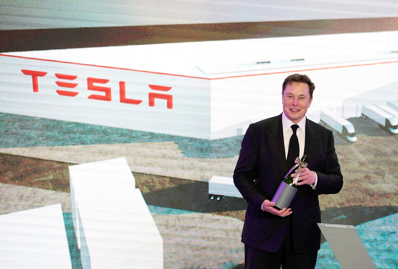 De CEO van Tesla, Elon Musk.