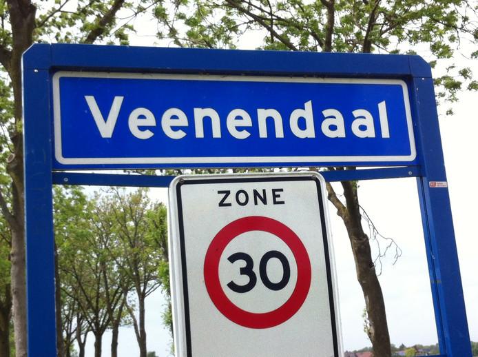 Kombord van Veenendaal.