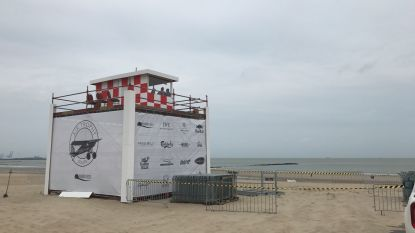 Anticlimax in Knokke: luchthaven op strand blijft voorlopig dicht