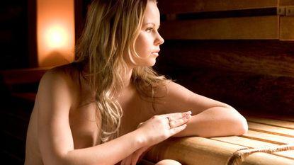 Het is eens iets anders: film kijken in de sauna