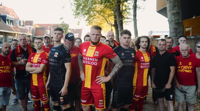 Lancering tenue GA Eagles