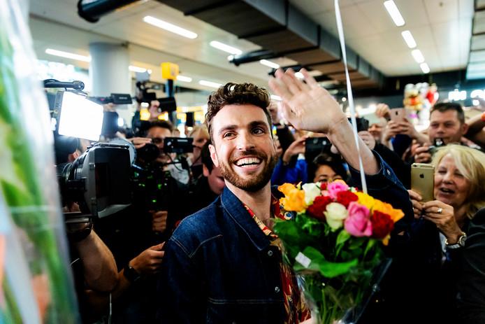 Duncan Laurence haalde het Songfestival naar Nederland.