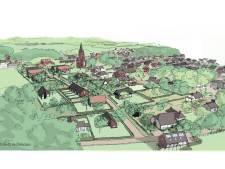 Veel groen en paadjes in de nieuwste versie van woonwijk Kerkenweide
