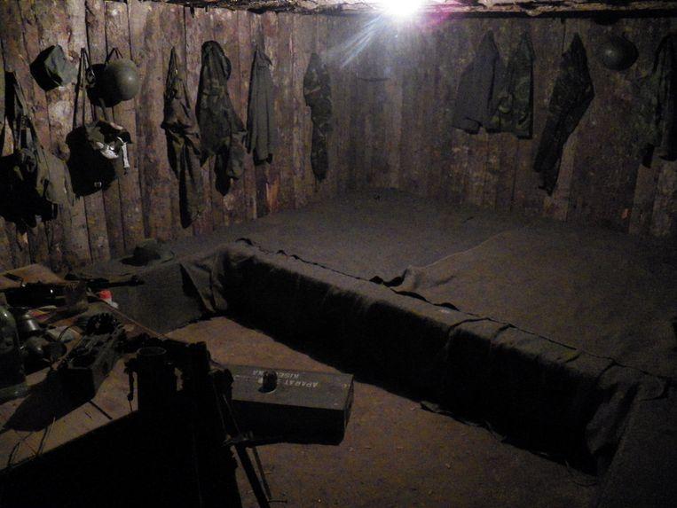 De bunker.