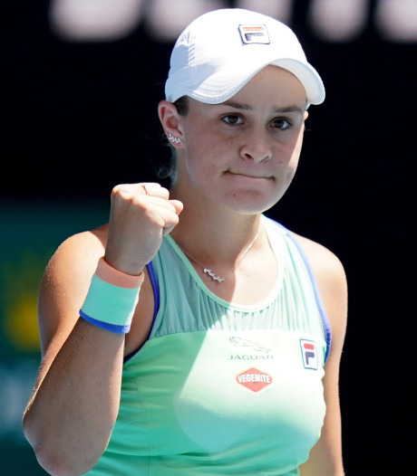 "Barty: ""Justine Henin? Un tennis incroyable, une personne formidable"""