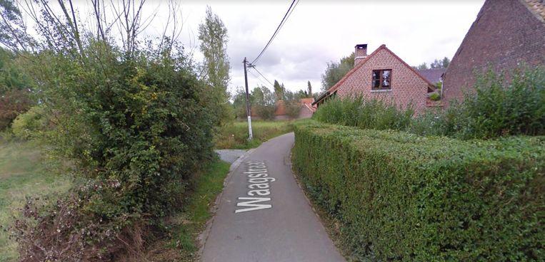 De Waagstraat in Aspelare.