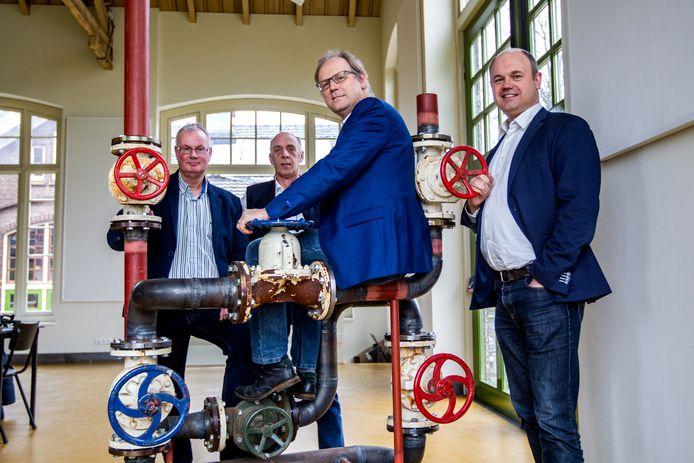 Rudy Doppen Jelmer Klaassen Peter Hutten en Rob Korten