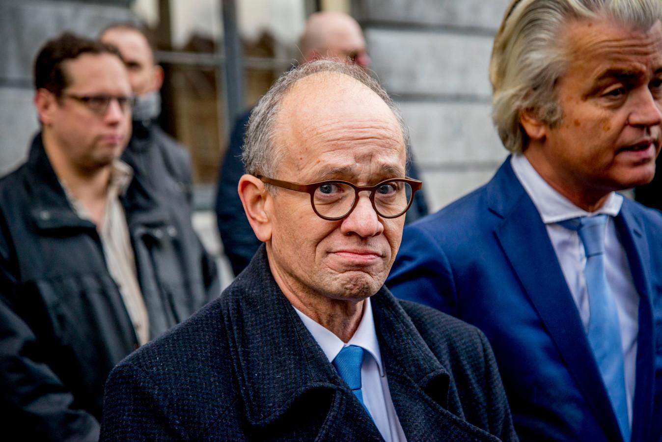 De Utrechtse PVV-lijsttrekker Henk van Deún.
