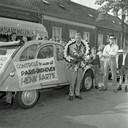 Henk Aarts tijdens Eindhoven - Parijs in 1960