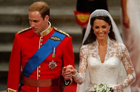 William en Kate trouwden op 6 juni 2011.
