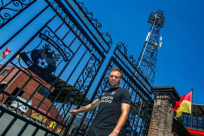 GA Eagles-captain Xandro Schenk trekt na 5,5 jaar de poort van de Adelaarshorst achter zich dicht.